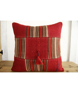Kilim Pillows |19x19| Decorative Pillows | 330 | Accent Pillows, Kilim c... - $35.00