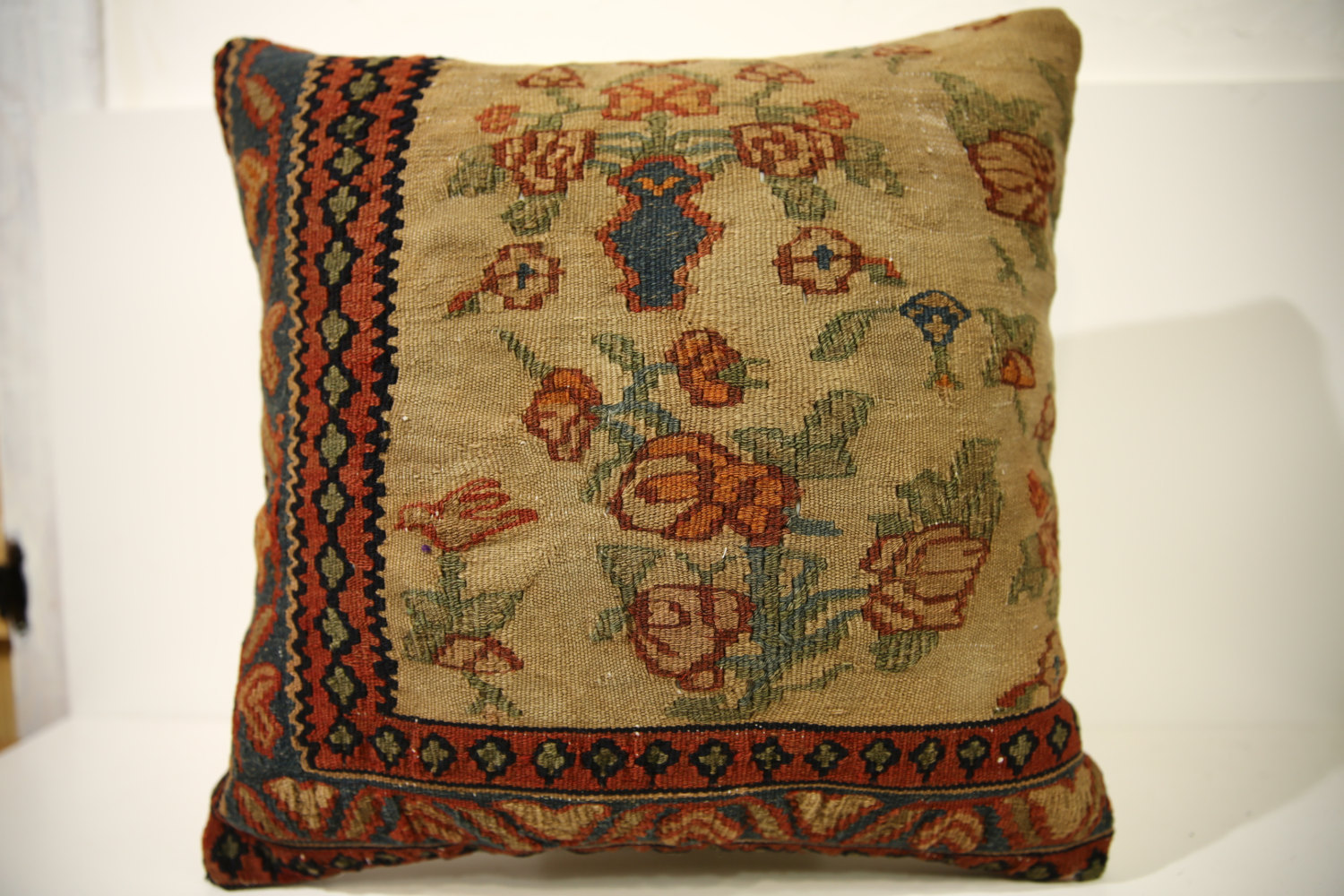 Kilim Pillows | 18x18 | Decorative Pillows | 1543 | Accent Pillows, floor pillow