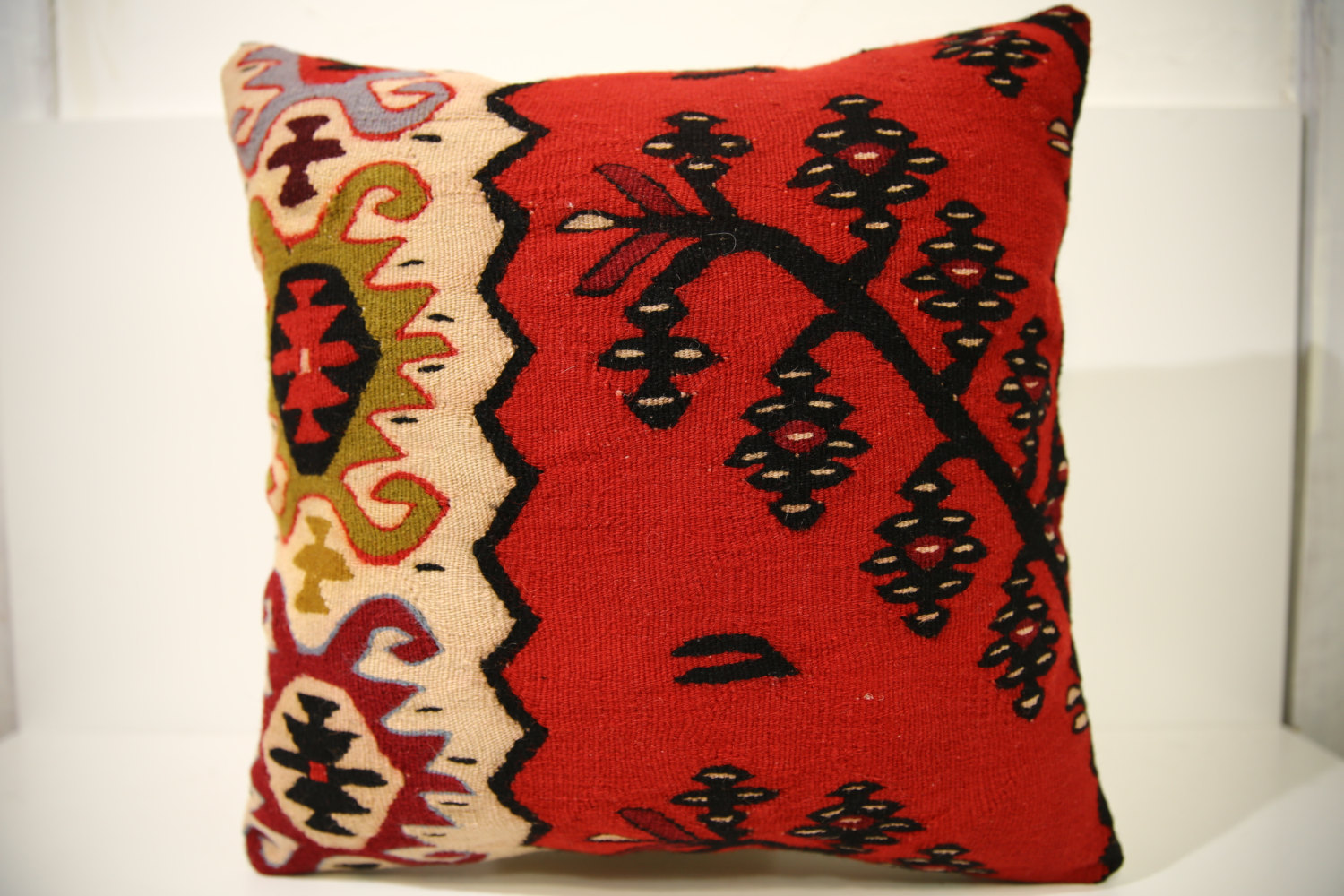 Kilim Pillows | 18x18 | Decorative Pillows | 1533 | Accent Pillows, pillow cover