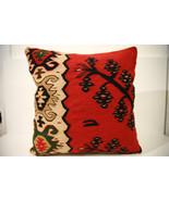 Kilim Pillows | 18x18 | Decorative Pillows | 1534 | Accent Pillows, keli... - $84.00
