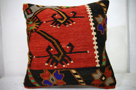 Kilim Pillows | 18x18 | Decorative Pillows | 1030 | Accent Pillows,couch... - $84.00