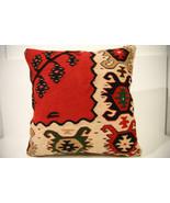 Kilim Pillows | 18x18 | Decorative Pillows | 1531 | Accent Pillows,kelim... - $84.00