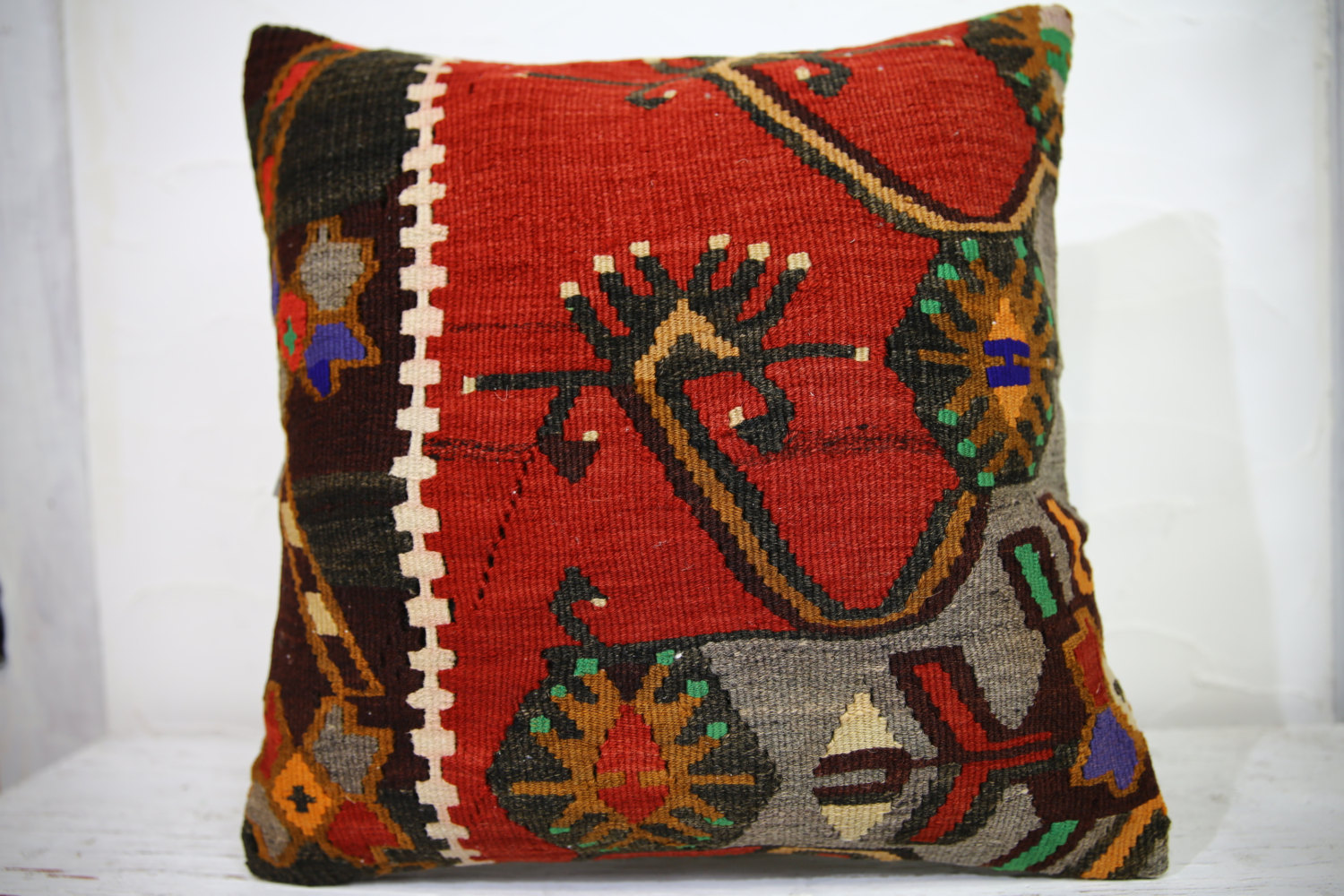 Kilim Pillows | 18x18 | Decorative Pillows | 1017 | Accent Pillows,throw pillows