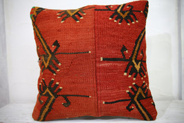 Kilim Pillows | 18x18 | Decorative Pillows | 1021 | Accent Pillows, Kili... - $84.00