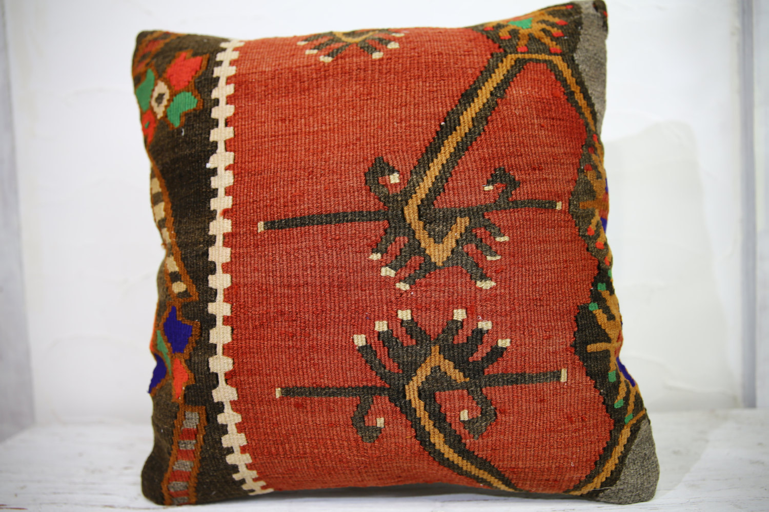 Kilim Pillows | 18x18 | Decorative Pillows | 1018 | Accent Pillows, Kilim pillow