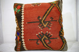 Kilim Pillows | 18x18 | Decorative Pillows | 1018 | Accent Pillows, Kili... - $84.00