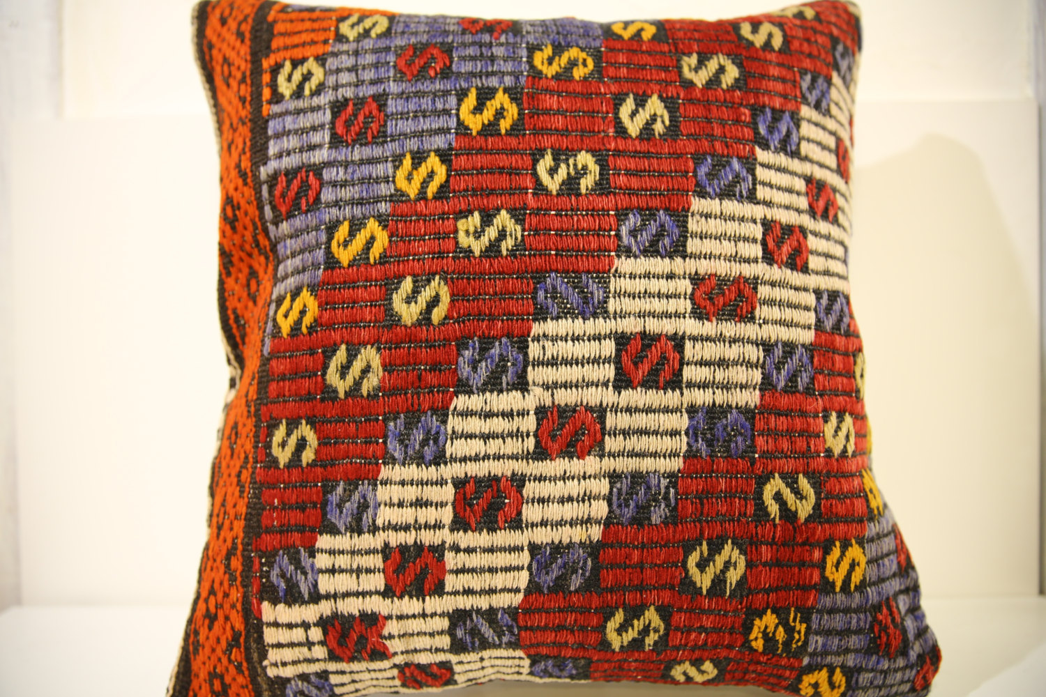 Kilim Pillows | 20x20 | Decorative Pillows | 1502 | Accent Pillows, Kilim rugs
