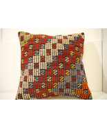 Kilim Pillows | 20x20 | Decorative Pillows | 1497 | Accent Pillows, Kili... - $56.00