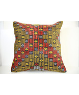 Kilim Pillows | 20x20 | Decorative Pillows | 1493 | Accent Pillows,turki... - $56.00