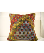 Kilim Pillows | 20x20 | Decorative Pillows | 1495 | Accent Pillows, keli... - $56.00