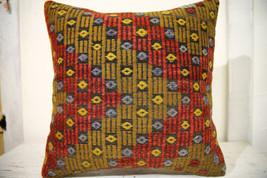 Kilim Pillows | 20x20 | Decorative Pillows | 694 | Accent Pillows, Kilim... - $56.00
