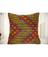 Kilim Pillows | 20x20 | Decorative Pillows | 694 | Accent Pillows, Kilim... - $56.00