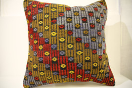 Kilim Pillows | 20x20 | Decorative Pillows | 1494 | Accent Pillows, Kili... - $56.00