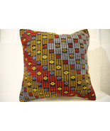 Kilim Pillows | 20x20 | Decorative Pillows | 1494 | Accent Pillows, Kili... - $56.00