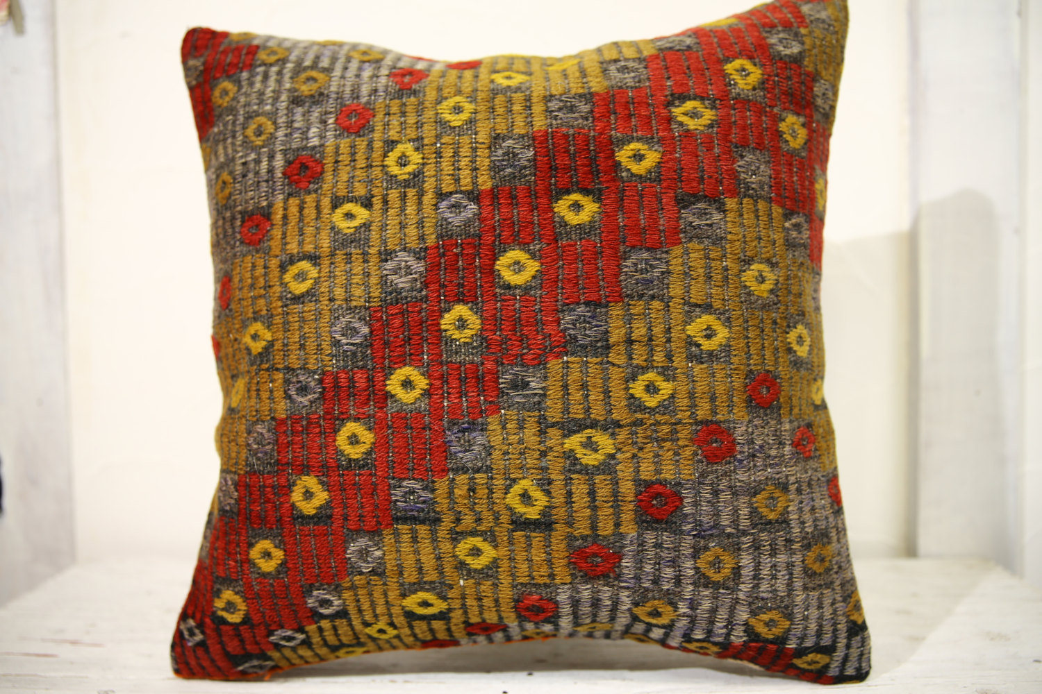 Kilim Pillows | 20x20 | Decorative Pillows | 689 | Accent Pillows, Kilim cushion