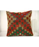 Kilim Pillows | 20x20 | Decorative Pillows | 693 | Accent Pillows, Kilim... - $56.00