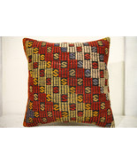 Kilim Pillows | 20x20 | Decorative Pillows | 686 | Accent Pillows, Kilim... - $56.00