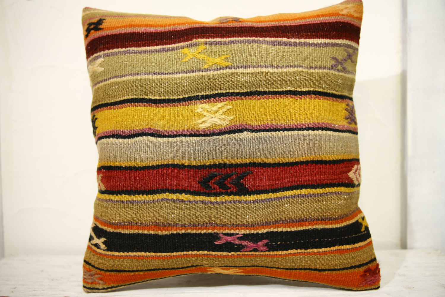 Kilim Pillows | 20x20 | Decorative Pillows | 672 | Accent Pillows, Kilim cushion