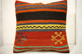 Kilim Pillows | 20x20 | Decorative Pillows | 678 | Accent Pillows, Kilim... - $47.60