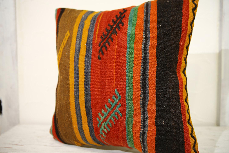 Kilim Pillows | 20x20 | Decorative Pillows | 674 | Accent Pillows, Kilim cushion