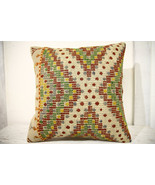 Kilim Pillows | 20x20 | Decorative Pillows | 662 | Accent Pillows, Kilim... - $65.80