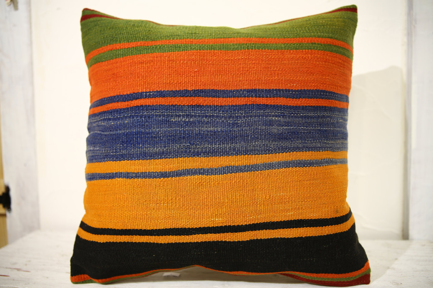 Kilim Pillows | 20x20 | Decorative Pillows | 661 | Accent Pillows, Kilim cushion