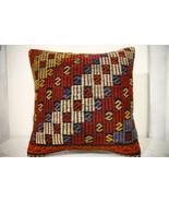 Kilim Pillows | 20x20 | Decorative Pillows | 645 | Accent Pillows, Kilim... - $56.00