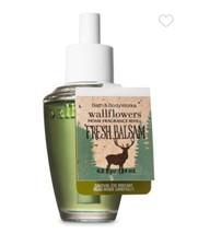 2-Pack LOT Fresh Balsam Bath & Body Works WALLFLOWER REFILL BULBS - $12.86