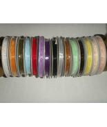 """1/4"""" Plain Sheer Organza Nylon Ribbon 25 Yards - Coral - $2.56"""