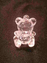 12 Crystal Like Transparent Baby Shower Bears - Clear - $2.92