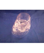 """12 Extra Large Baby Booties Candy Holders Favors 3"""" - Clear - $4.94"""