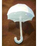 12 Fillable Plastic Baby Bridal Shower Umbrellas Favors - Blue - $9.85