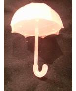 12 Fillable Plastic Baby Bridal Shower Umbrellas Favors - Pink - $9.85