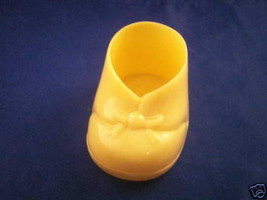 "12 Medium Baby Booties Candy Holders Favors 2.25"" - Yellow - $2.96"