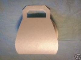 12 plain white  Purse Shower Favor candy Boxes - $6.68