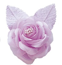 12 silk roses wedding favor flower corsage lavender 2.75 - $7.72
