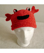 Crab Hat for Children - Animal Hats - Medium - $16.00