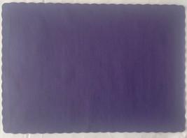 """24 Paper Placemats 10"""" X 14"""" Dinner Size 26 Colors - Purple - $2.92"""
