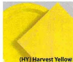"24 Plates 10"" Paper Dinner Lunch Plates Wax Coated - Harvest Yellow - $8.66"