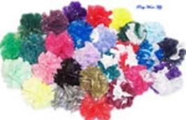 "25 Car Limo wedding Decoration Plastic Pom Poms Flower 4""  - teal - $4.25"