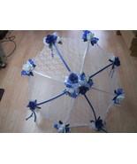 """32"""" Bridal Wedding Shower mixed colors roses UMBRELLA PARASOL - $26.72"""