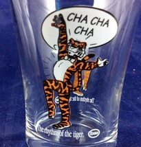 Vintage Esso Exxon Glass Petroliana Cha Cha Cha The Rhythm Of The Tiger ... - $22.67