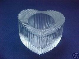 72 Glass Heart shaped votive tea lite candle holders - $88.11