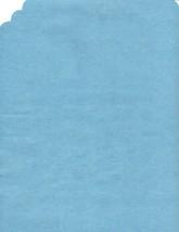 72 Paper Placemats Dinner Size place mats straight edge - medium blue - $7.91