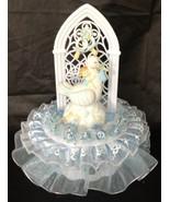 Baby on a stork Boy Baby Shower Cake Top Decoration Centerpiece - $19.75