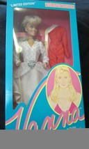 "Vanna White 11.5"" doll~new in box~white & silve... - $17.44"