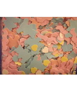 Baby shower party confetti 1 oz pink blue yellow white - $1.73