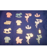 Capias mini charms for babies showers birthdays favors - $2.40
