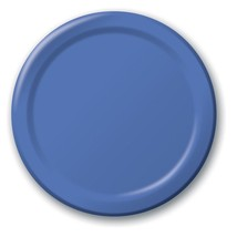 Creative Converting Dinner Plates 24 Count 10 - 1/4 Inch Diameter Royal bluen - $5.44