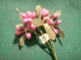 light pink and dark pink stamens 648 stems ideal wedding favor picks - $19.75
